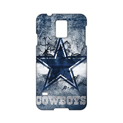 Angl 3D Case Cover Dallas Cowboy Phone Case for Samsung Galaxy s 5 (Ipad 3 Cowboys Case)
