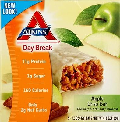Atkins - Day Break Apple Crisp Bar, 5 bars from Atkins