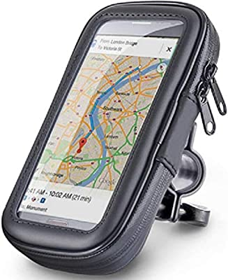 Funda Móvil GPS Impermeable para Bicicleta Soporte Smartphone Bici ...