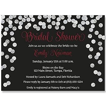 b6f161d1afc Amazon.com  Bridal Shower Invitations
