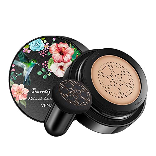 Concealer Makeup BB Cream Air Cushion Oil Control Waterproof Sweatproof Long Lasting Matte Whitening Brightening, Brighten  Skin Tone, Full Cover Eye Bag Dark Circles Large Pores Pimple Acne Mark