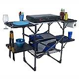 GCI Outdoor Slim-Fold Camp Kitchen Portable Folding Cook...
