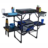 GCI Outdoor Slim-Fold Camp Kitchen Portable Folding