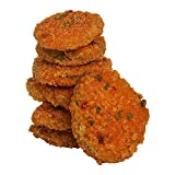 Freds Spicy Bread Pickle Chips Appetizer, 2 Pound -- 6 per case. Fermented dill pickle slices are coated, prefried and quick frozen. Cooked appearance will be golden highlights with noticable green back ground color. Finished product flavor, ...