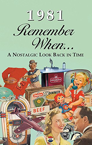 Seek Publishing 1981 Remember When KardLet (RW1981)