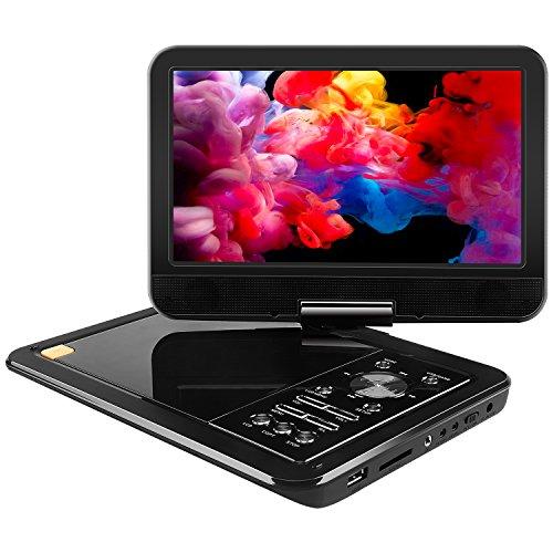 apeman 10.5'' Portable Mobile Mini Car CD DVD Player for kids and...