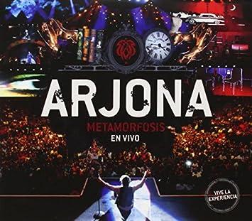 Arjona Metamorfosis En Vivo by Ricardo Arjona : Ricardo Arjona: Amazon.es: Música