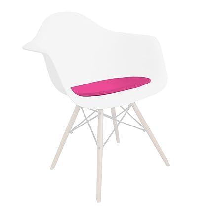 VENTA! 1 x cojín de la silla (imitación de cuero) encaja ...