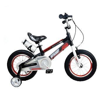 Xiuxiushop Bicicleta para niños Andador para niños Bicicleta Deslizante Bicicleta de Aluminio Carro para niños de 12/14 Pulgadas (Color : Silver , Size : 12INCH) : Amazon.es: Juguetes y juegos