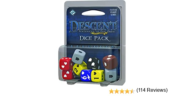 Descent Second Edition Board Game Dice Pack: Amazon.es: Juguetes y juegos