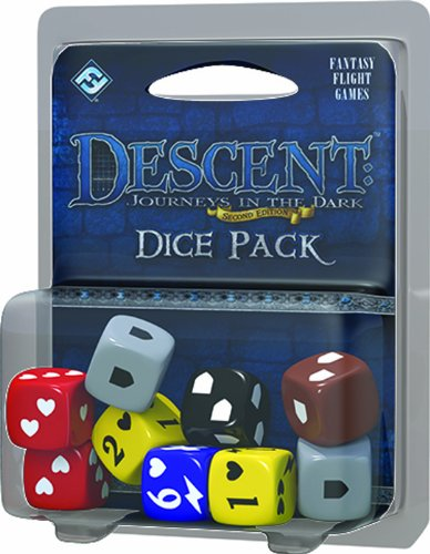 Descent: Journeys in the Dark 2nd Edition - Dice Pack - Edition Dice