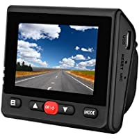 "RoadRover Car dvr,Dash Cam, Dashboard Camera Recorder with Sony Exmor Sensor, 2.45""IPS LCD, 1080P FHD, 170 Wide-Angle Lens, Built-In WiFi, G-Sensor, WDR, Loop Recording, Auto Night Mode,Car Charger"