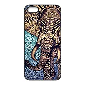 Customiz Aztec Elephant Back Case for iphone 5 5S