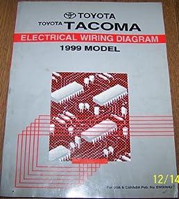 1999 toyota tacoma electrical wiring diagram repair manual toyota 08 Tacoma Wiring Diagrams 1999 toyota tacoma electrical wiring diagram repair manual toyota motor corp amazon com books
