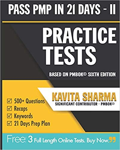 Amazon com: PMP Practice Tests (Pass PMP in 21 Days