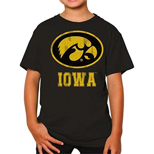 NCAA Iowa Hawkeyes Youth Boys Tee, Large, (Iowa Tee)