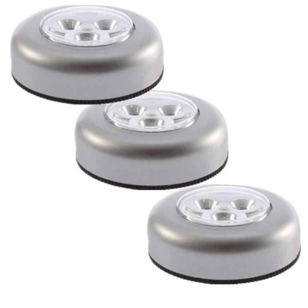 Ndier 3 STK LED Noten Licht Dimmbare Touch Control Nachtlicht Bar Touch Sensor Wireless Akku Unterschrank helle Wandschrank Licht Lampen Birnen Beleuchtung ohne Batterie Homeproduct