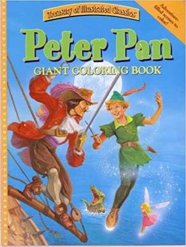 Peter Pan Giant Coloring Book (Treasury of Illustrated Classics ...