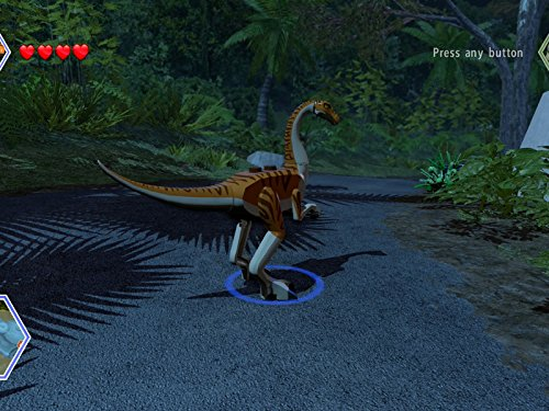 Gallimimus - Dig Site, Prologue Free Play (Jurassic Park) ()