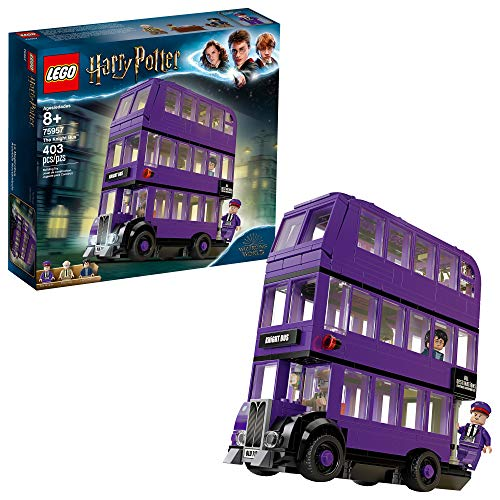 Halloween Costumes 2019 Friends (LEGO Harry Potter and The Prisoner of Azkaban Knight Bus 75957 Building Kit, New 2019 (403)