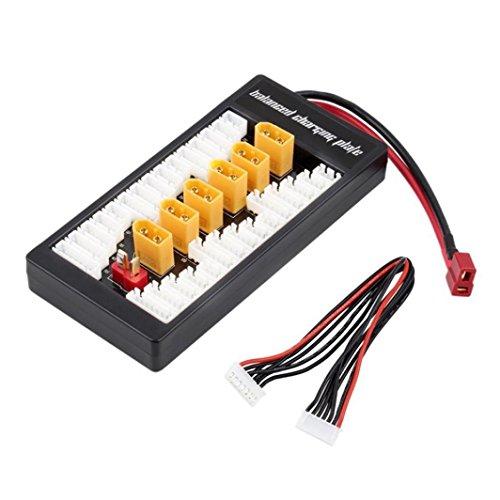 DZT1968 2OZ-thick copper foil Lipo Charging XT60 Plug Adaptor Board 2-6S Balance Charge Board For imax B6 B6A - Copper Foil Shade