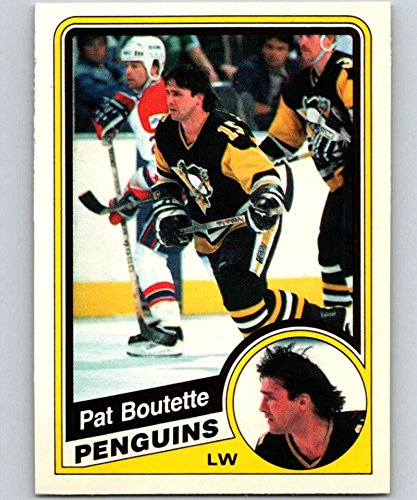 1984-85 O-Pee-Chee #171 Pat Boutette Penguins NHL Hockey