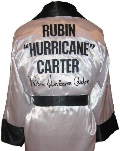"B00AB6223Q Rubin ""Hurricane"" Carter Signed White Robe 51b7H1N6zYL."