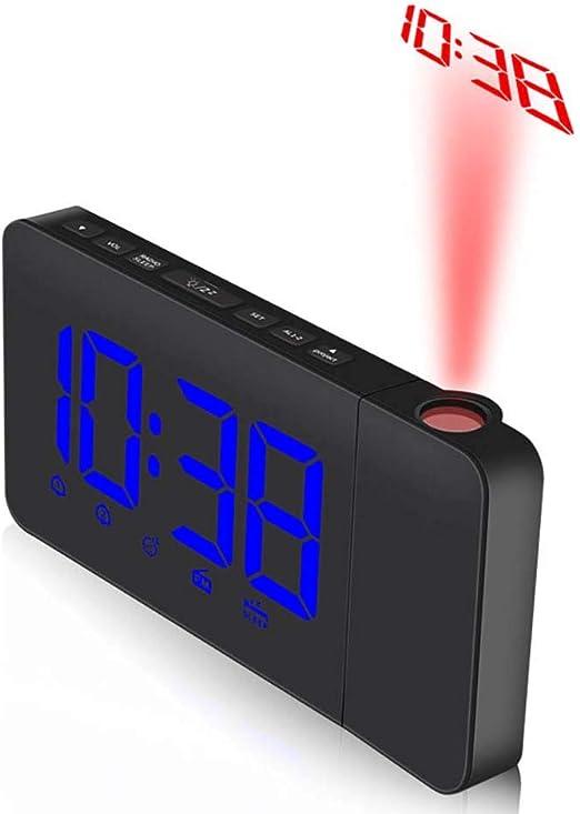 Feng tata Colorido de la proyección del LED Digital Radio ...