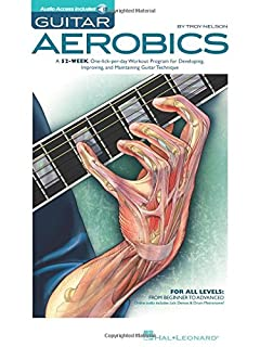 Guitar Aerobics: A 52-Week, One-Lick-Per-Day Workout Program for Developing, Improving & Maintaining Guitar Technique (1423414357) | Amazon price tracker / tracking, Amazon price history charts, Amazon price watches, Amazon price drop alerts