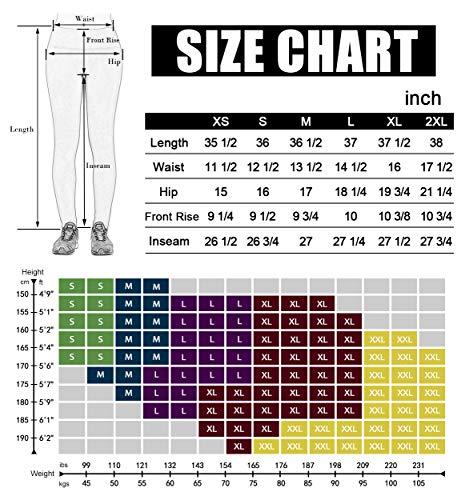Large Product Image of ODODOS Power Flex High-Waist Yoga Pants Tummy Control Workout Running Pant with Hidden Pocket,Black,Medium