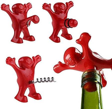 Sacacorchos 1pc Creativo Novedad Abridor Tapón De Vino Botella De Vino Sacacorchos Herramientas De Barra Regalos De Cocina