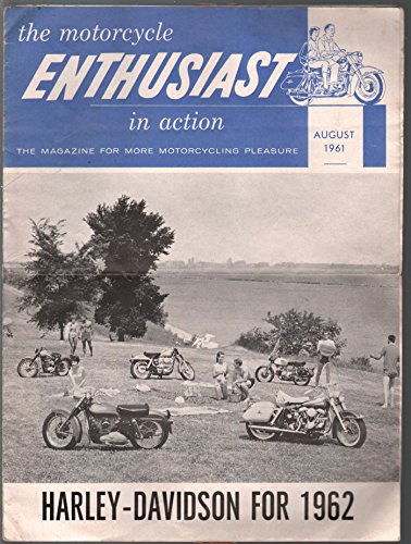 Enthusiast 8/1961-Harley Davidson-pix-info-large format-VG