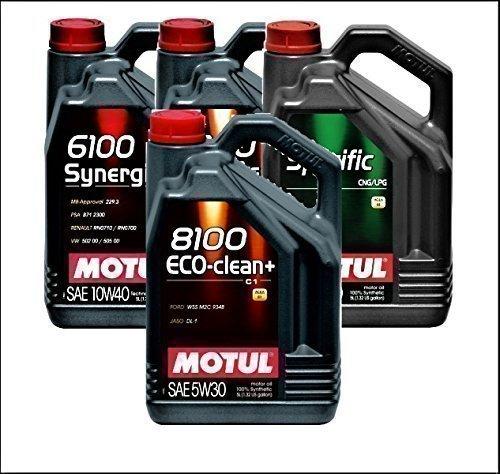 Motul 8100 Eco-clean+ Aceite para motores 5W-30: Amazon.es: Coche y moto