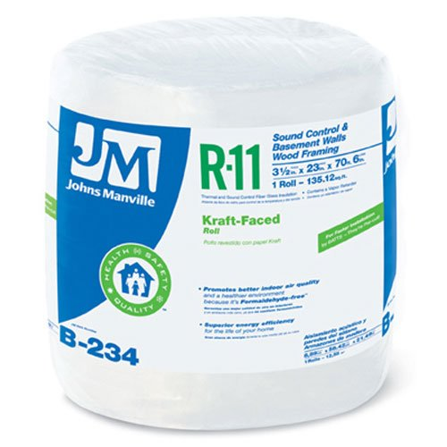 JOHNS MANVILLE INTL 90003718 Series R11 23''x70'6 Kraft Roll by JOHNS MANVILLE INTL