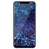Face ID Unlocked Phone, 6.18 inch 18:9 FHD+ Screen 13MP Dual HD Camera Smartphone Android8.1 Eight Core 4GB+32GB Including 64GB Card 5000mAh Fast Charge GPS 4G Cell Phone (Black, Meiigoo S9)