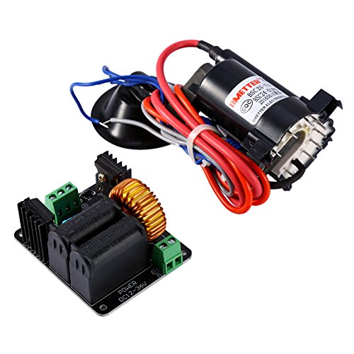 12v-36V Zero Voltage Switching(ZVS) Tesla Coil Flyback Driver Circuit for SGTC Marx Generator / Jacob's Ladder + ignition Coil