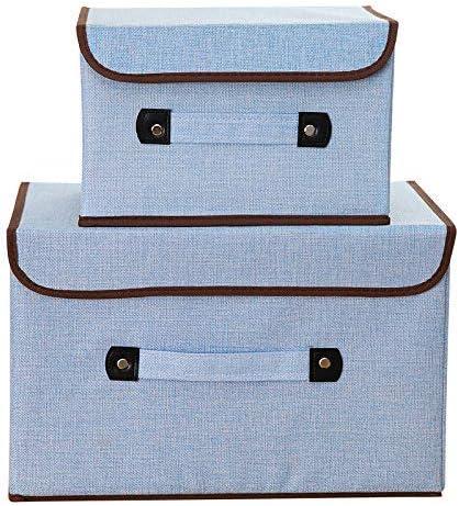 Opcbreath - Cajas de Almacenamiento de algodón y Lino Resistentes ...