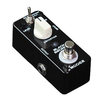 Mooer Black Secret - Pedal de distorsión para guitarra eléctrica: Amazon.es: Instrumentos musicales