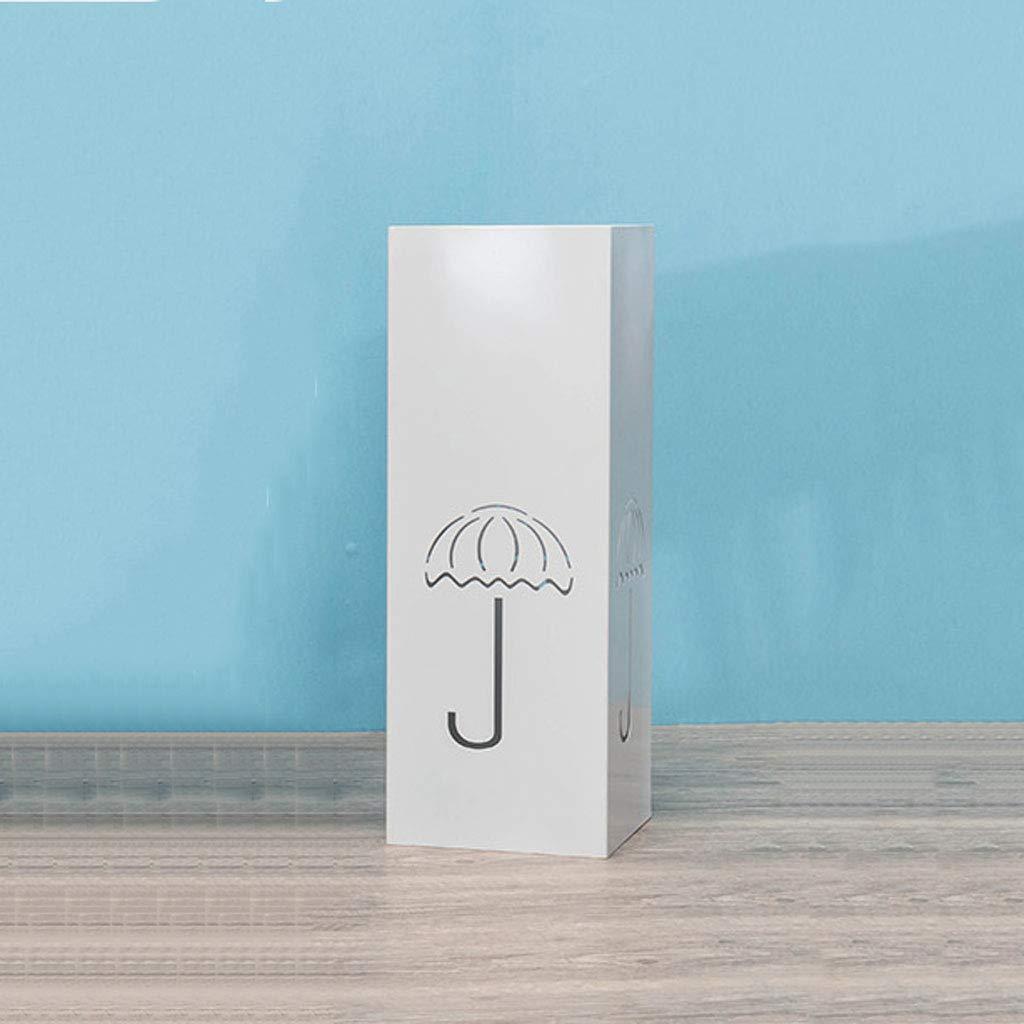 lj-Umbrella stand Soporte para Paraguas Moderno y Sencillo casa Paraguas de Almacenamiento de Engranajes de Lluvia Interior Cuadrado Paraguas de Drenaje Paraguas Longitud del Barril Paraguas