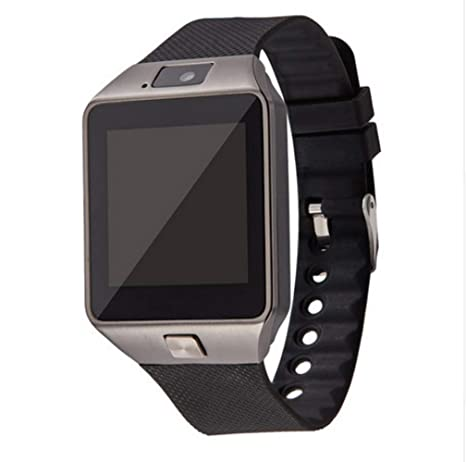 Amazon.com: Aeifond DZ09 Reloj inteligente con Bluetooth ...