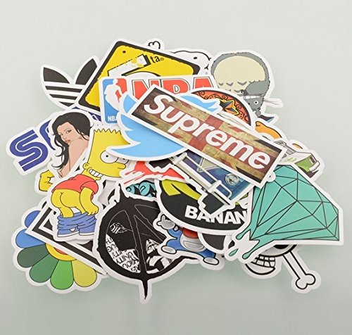 (Pack of 100) Long Love Stickers Skateboard Snowboard Vintage Vinyl Sticker Graffiti Laptop Luggage Car Bike...