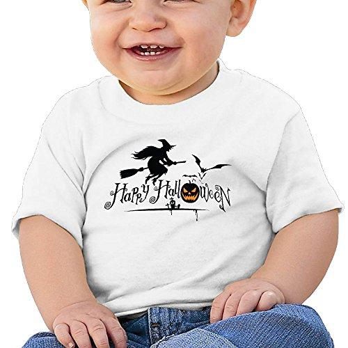 Halloween 6 - 24 Months Baby T-shirts Round Neck Shirt White 24 Months (Halloween Horror Nights 24 T Shirts)