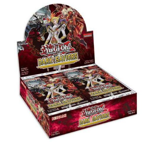 - Yugioh Dark Saviors Unlimited Edition Factory Sealed Konami Booster Box