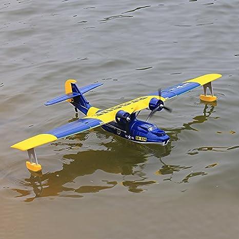 Amazon.com: Dynam PBY Catalina azul RC Avión 4 ch 1470 (57 ...
