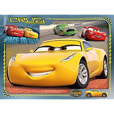 Ravensburger 6894 Disney Pixar Cars 3 - 4 In A Box Jigsaw Puzzles: Toys & Games