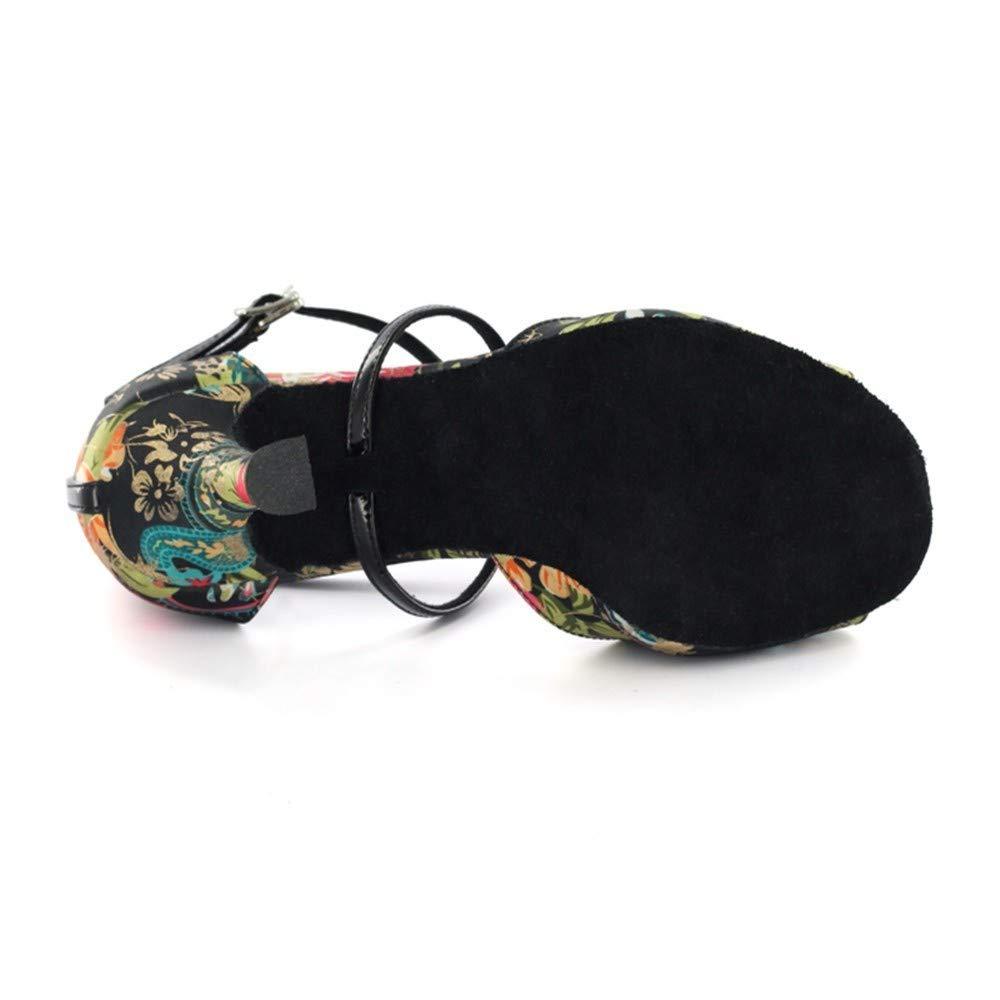 HCCY Färben Sie lateinische Tanzschuhe weiche weiche weiche Innenschuhe der Innendamen B07MJZ1BS7 Tanzschuhe Vorzugspreis 96c434