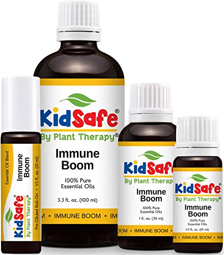 KidSafe Immune Boom Synergy Essential Oil Blend, Undiluted, Therapeutic Grade