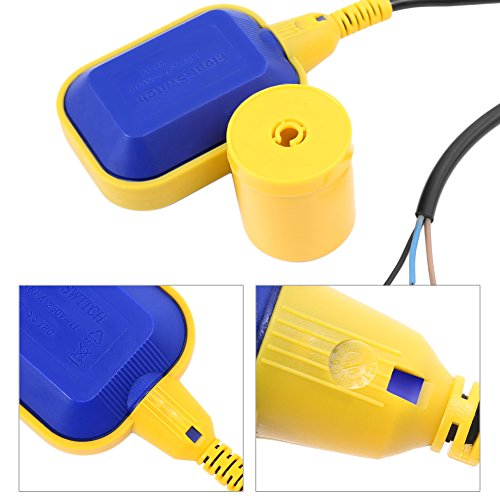Yosoo, Interruptor flotador, sensor de nivel de agua, líquido interruptor flotador, para bomba, depósito de líquido, regulador del nivel de agua: Amazon.es: ...