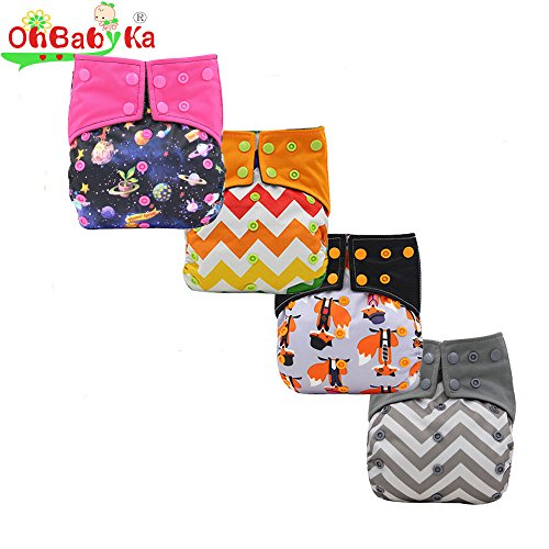 Pocket Charcoal Diapers Gussets Ohbabyka product image