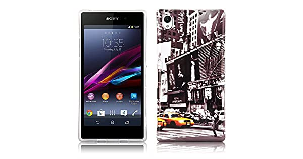 Amazon.com: Cadorabo - Hard Case Back Cover works with Sony ...